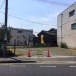 近隣商業地域の建築条件無し売土地♪