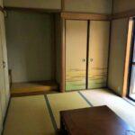 押入れが沢山ある和室です!