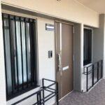 廊下部分に室外機が置けるスペースがあります!